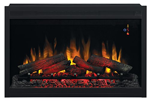 ClassicFlame 36EB220-GRT 36″ Traditional Built-in Electric Fireplace Insert, 240 volt