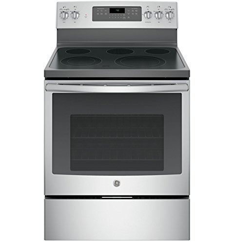 GE JB750SJSS 30″ Stainless Steel Electric Smoothtop Range – Convection