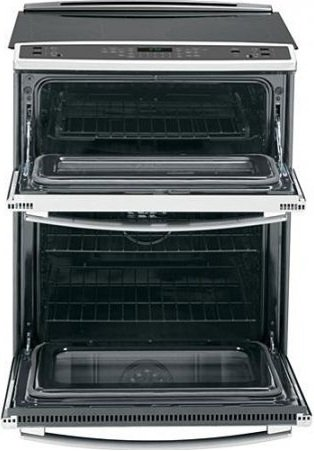 GE PS950SFSS 30″ 6.6 cu. ft. Capacity Slide-In Double Oven Electric Range In Stainless Steel