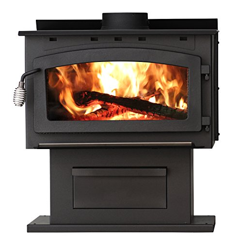 US Stove 2016EB King Epa Certified Wood Stove, 89,000 Btus
