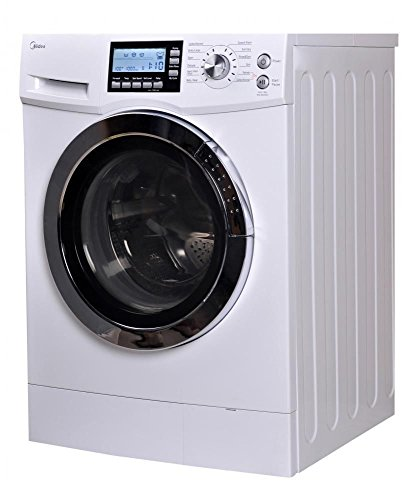 midea US-FC70-DS12DSH 2.0 Cu. ft. Front Loading Washer and Dryer Combo, White